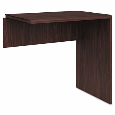 10700 Series 29.5 H x 30 W Right Desk Return Finish: Mahogany