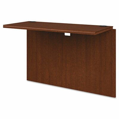 10700 Series 29.5 H x 42 W Desk Bridge Finish: Henna Cherry