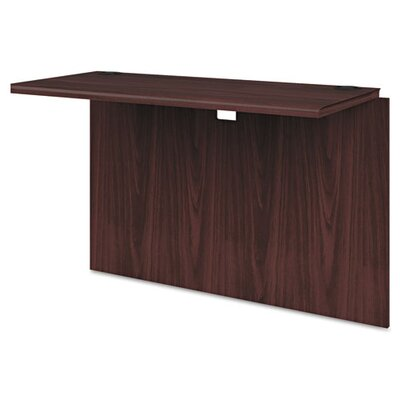 10700 Series 29.5 H x 42 W Desk Bridge Finish: Mahogany