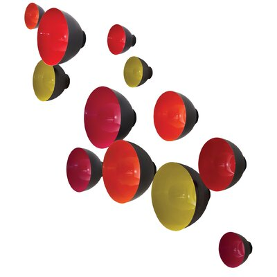 3 Piece Flying Bowls Wall Décor Set