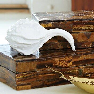 Stemmed Gourd in Porcelain
