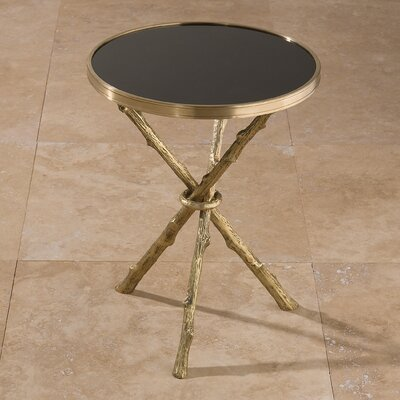 End Table Finish: Brass