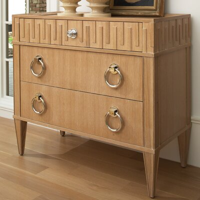 French Key 1 Drawer Chest Finish: Light Finish