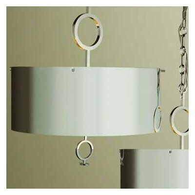 O 4-Light Drum Chandelier