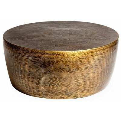 Izmir Coffee Table Color: Antique Brass