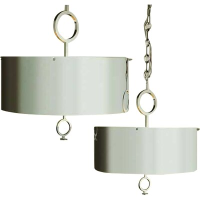 4-Light Drum Pendant Chandelier