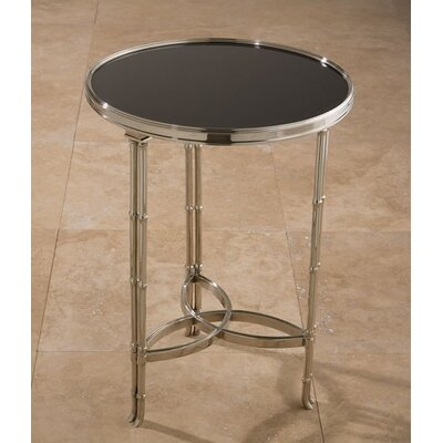 Draw Attention End Table Finish: Nickel