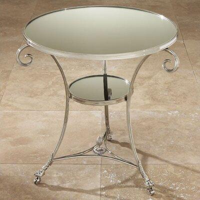 Cheap Global Views Gueridon Nickel & Mirror End Table (GXV1050)