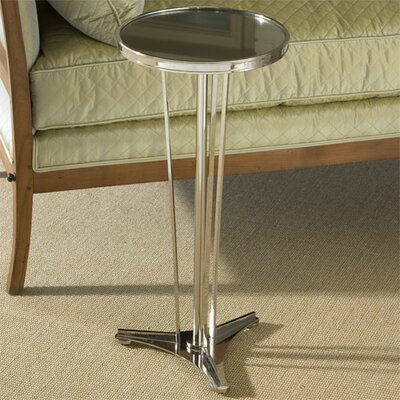 Cheap Global Views French Modern Side Table with Mirror Top in Nickel (GXV1091)