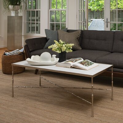 Spike Coffee Table Base Finish: Antique Nickel