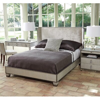 Argento Upholstered Panel Bed with Mattress Size: King