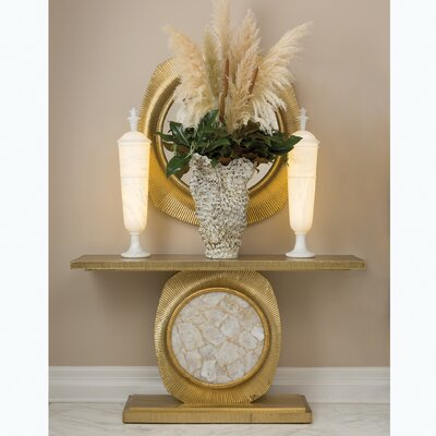 Opera Fluted Console Table