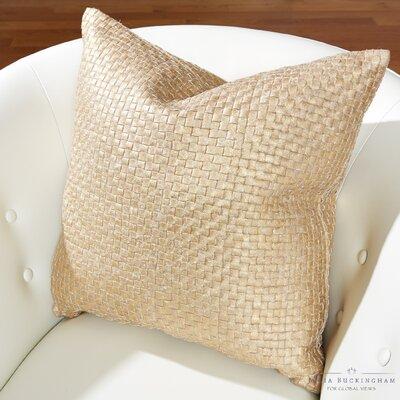 Julia Buckingham Throw Pillow Color: Gold