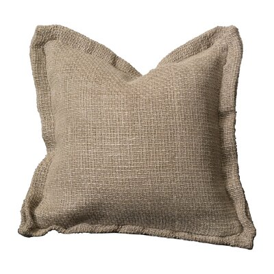 Olmo Throw Pillow Color: Natural