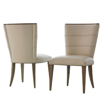 Adelaide Upholstered Dining Chair Upholstery Color: Beige