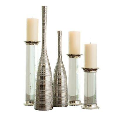 """Nifty Floor Vase Size: 30"""" H x 5.25"""" W x 5.25"""" D 1.10205"""