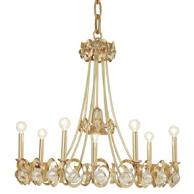 Jewel Tangle Candle-Style Chandelier