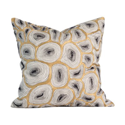 Agate 100% Cotton Throw Pillow