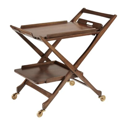 Bar Serving Cart with Removable Top Tray 7.20075