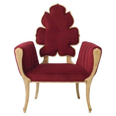 Wiggle Armchair Upholstery: Merlot