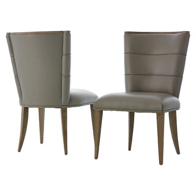 Adelaide Upholstered Dining Chair Upholstery Color: Gray