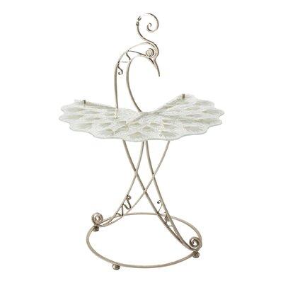 Peacock End Table Base Color: Gray