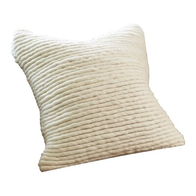 Straight Noodle Felt 100% Cotton Throw Pillow