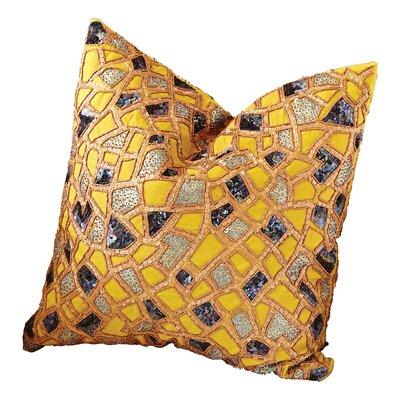 Mosaic 100% Cotton Throw Pillow