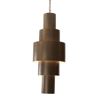Babylon 2-Light Drum Pendant