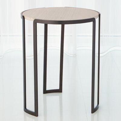 Channel End Table Color: Bronze