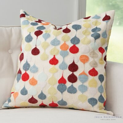 Raindrop Throw Pillow