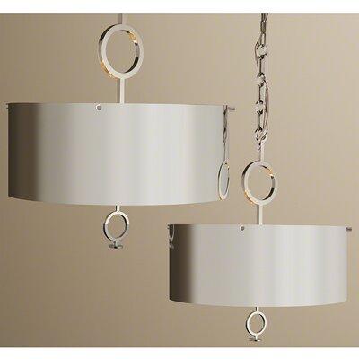 Deco Chain Globe Pendant