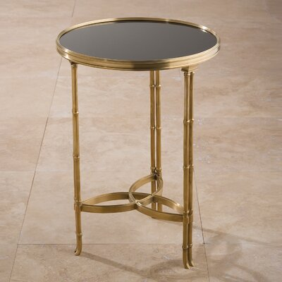 Draw Attention Tray Table Color: Brass