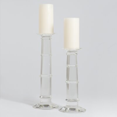 Global Views Ice Candlestick 8.81728
