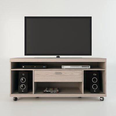 "Manhattan Comfort Ansonia 53"" TV Stand - Finish: Nature White / Pro Touch"