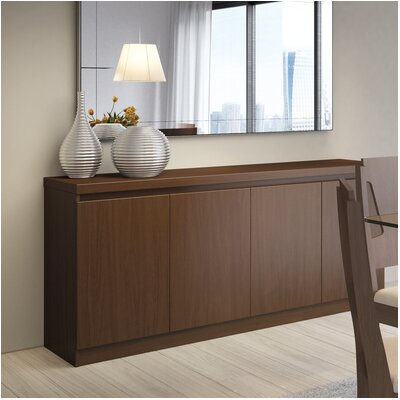 Viennese Sideboard Color: Nut Brown