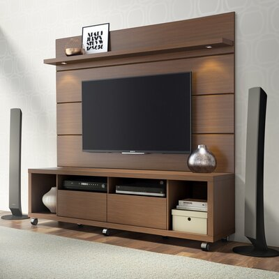 Julius 71 TV Stand Color: Nut Brown