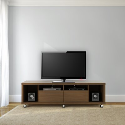 71 Newburyport Wooden TV Stand Color: Nut Brown