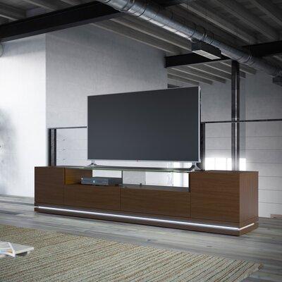 Lasker 85 TV Stand Color: Nut Brown