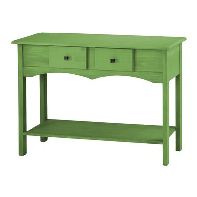 Robertson Entryway Sideboard with 2 Full Extension Drawers Color: Green Wash