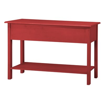 Robertson Entryway Sideboard with 2 Full Extension Drawers Color: Red Wash