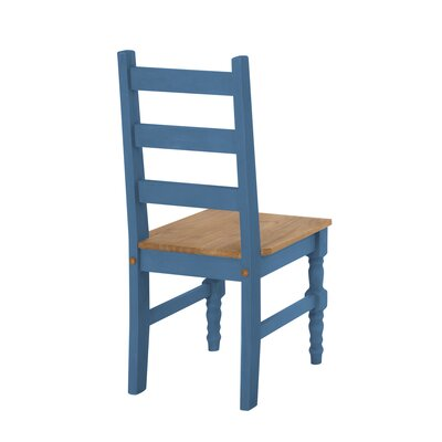 Robertson Solid Wood 6 Piece Dining Set Finish: Blue Wash