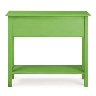 Robertson Tall Sideboard with 1 Full Extension Drawer Color: Green Wash