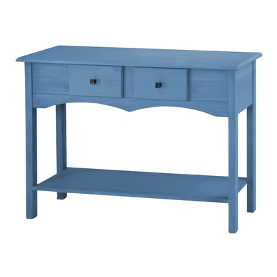 Robertson Entryway Sideboard with 2 Full Extension Drawers Color: Blue Wash