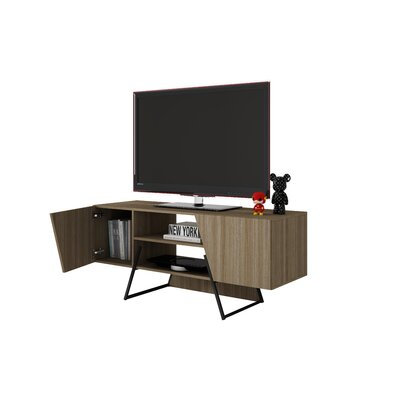 Blaire 53.14 TV Stand with 4 Shelves