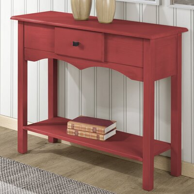 Robertson Tall Sideboard with 1 Full Extension Drawer Color: Red Wash
