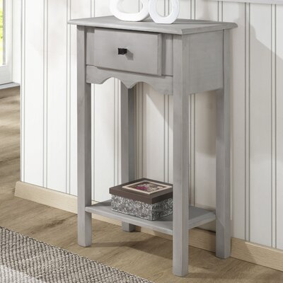 Robertson End Table Color: Gray Wash