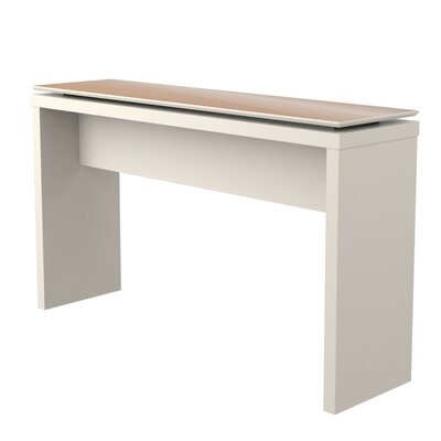 Franklin Entryway Sideboard Color: Off White/Maple Cream
