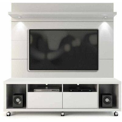 Julius Entertainment Center with LED Lights