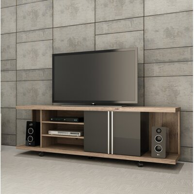 Monongah 71 TV Stand Color: Nut Brown